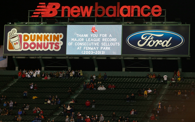 Boston Red Sox's incredible sell-out streak ends