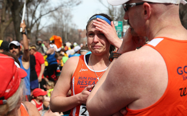(Video) Boston Marathon runners describe moments the bombs exploded