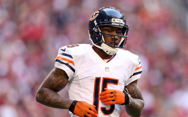 """Brandon Marshall is """"in love"""" with Chicago Bears offense"""
