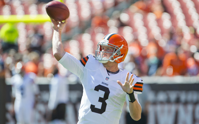 Cleveland Browns QB Brandon Weeden ready to take control of the team