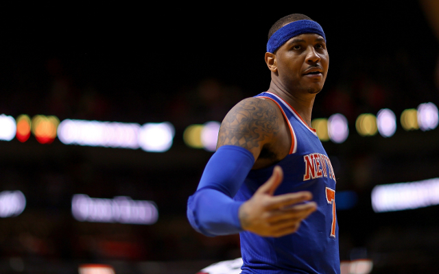Carmelo Anthony trade rumors: Mavs not confident of landing wandering Knicks star