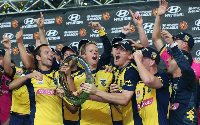 Central Coast Mariners breakthrough for their maiden A-League title
