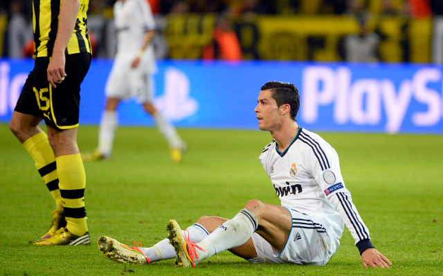 Ronaldo a doubt for Real Madrid's Champions League second-leg with Dortmund
