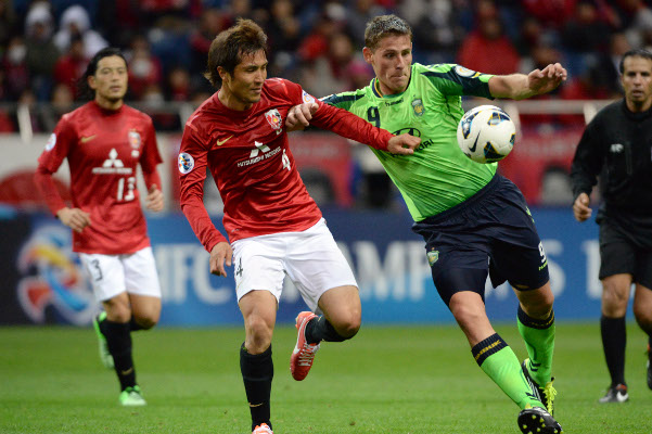 (Video) Jeonbuck Motors 2-2 Urawa Red Diamonds: AFC Champions League highlights