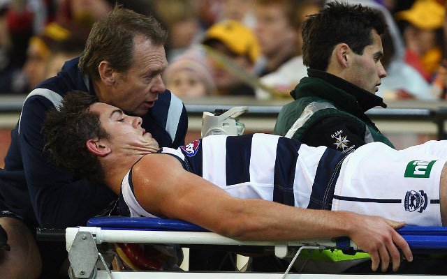 Geelong's Daniel Menzel requires a fourth knee reconstruction