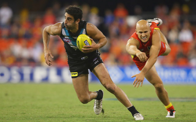 Port Adelaide legend Dominic Cassisi to retire following clash with Melbourne this weekend