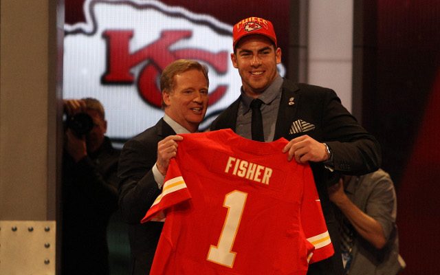 Kansas City Chiefs select Eric Fisher with the first pick in the NFL Draft