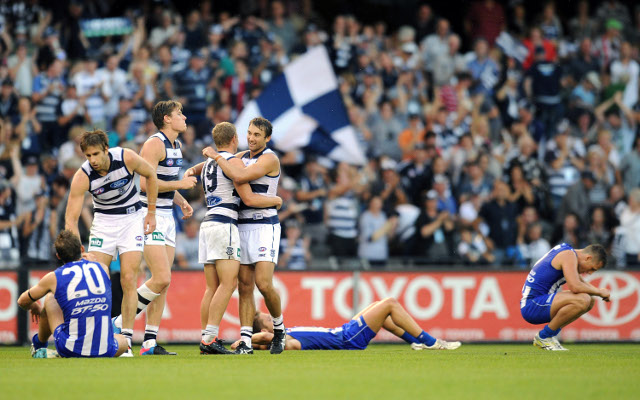Ankle injury rules Geelong's Mathew Stokes out of AFL action