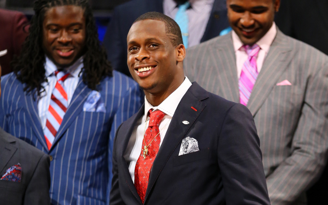 New York Jets quarterback draft pick Geno Smith fires agents