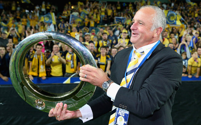 (Video) Central Coast Mariners boss Graham Arnold discusses new contract