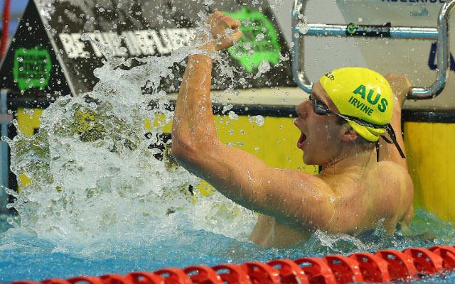 Grant Irvine sets a new world butterfly record at Australian titles