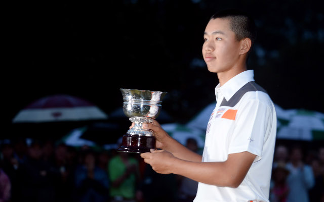Chinese junior star Guan Tianlang caps first Masters with award
