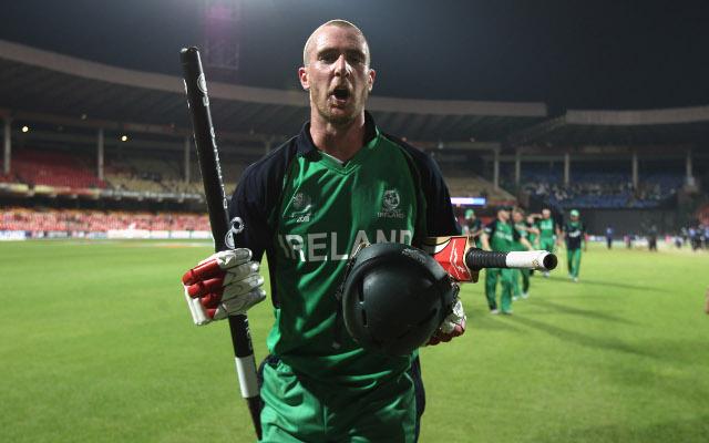 Ireland batsman Mooney suspended for Thatcher tweet