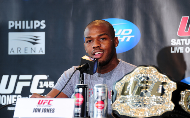 UFC fighter Jon Jones tests positive for cocaine