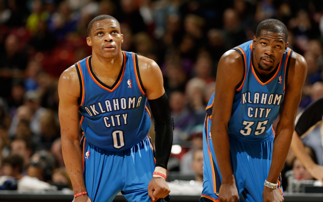 (Video) Oklahoma City Thunder 90-80 Utah Jazz: Westbrook-Durant combine for win