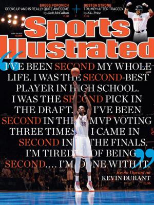 Kevin Durant Oklahoma City Thunder SI