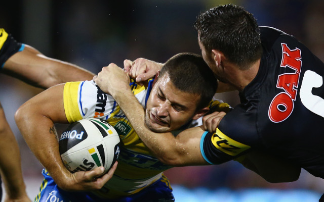 Parramatta Eels star Luke Kelly dumped from Penrith Panthers clash due to salary cap issues