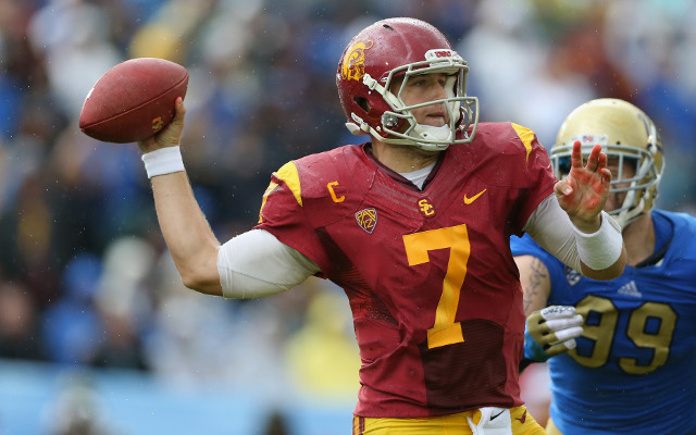 (Video) USC Quarterback Matt Barkley shows off unique talent ahead of NFL Draft