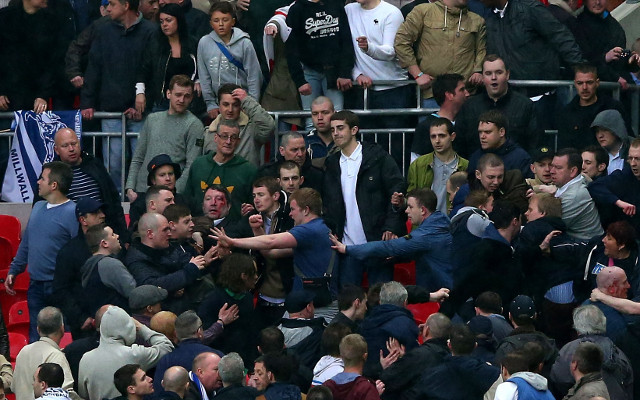 Millwall meet with The FA to discuss violence from FA Cup semi final at Wembley