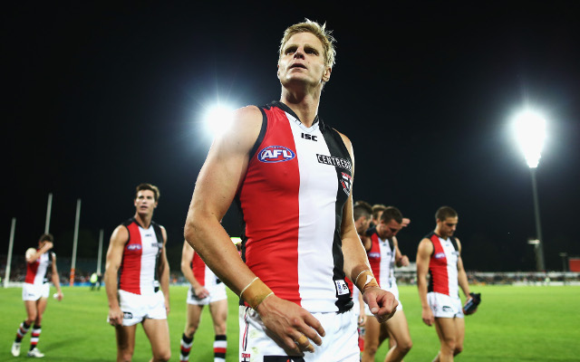 St Kilda suffer major blow with star duo to miss ANZAC Day clash with Carlton