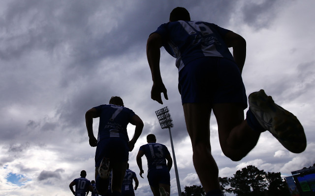 North Melbourne run out