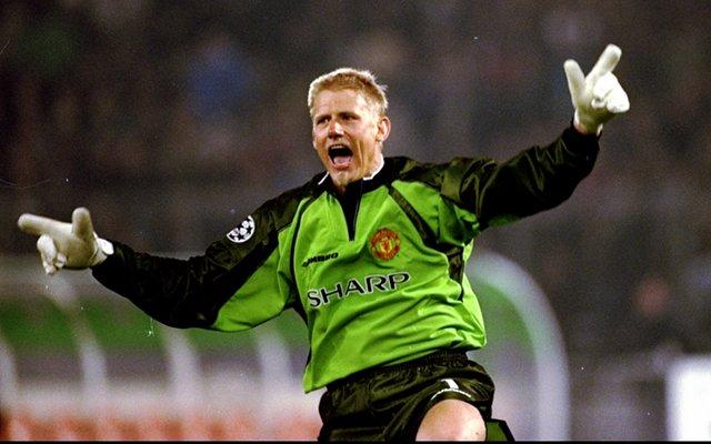 Peter Schmeichel Man United