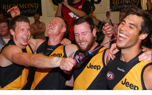 Richmond Tigers their enjoy best start to an AFL season in 16 years