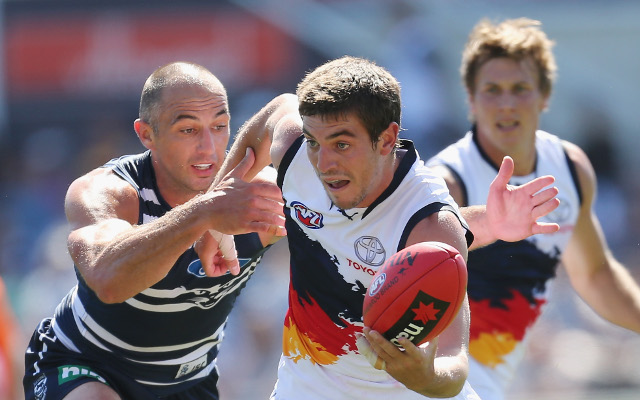Adelaide Crows star Ricky Henderson exposed on nationally televised game