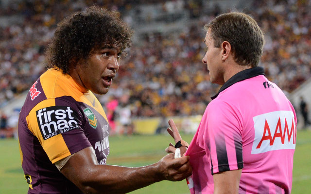 Brisbane Broncos to contest Sam Thaiday's referee contact charge