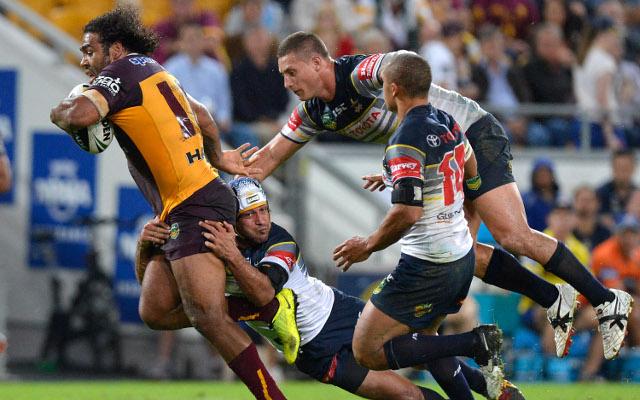 Sam Thaiday Brisbane Broncos