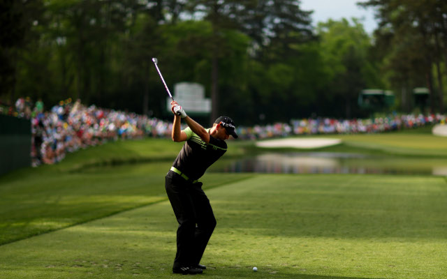 (Video) Dream start for Sergio Garcia as he leads The Masters after day one