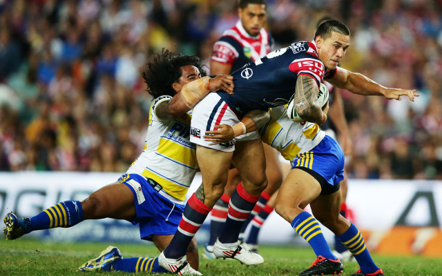Sonny Bill Williams Sydney Roosters