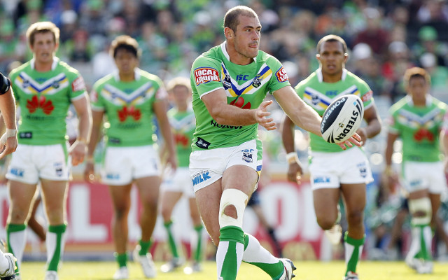 Canberra Raiders' Terry Campese back from long-term knee injury