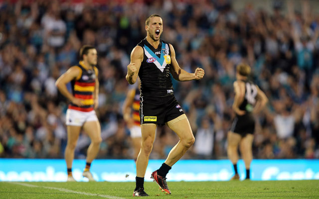 Port Adelaide AFL coach Ken Hinkley says favouritism counts for nothing against Crows