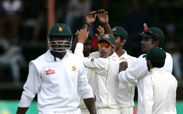 Bangladesh seize advantage on day two of second Test in Zimbabwe
