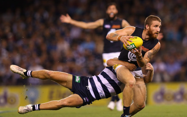Zach Tuohy Carlton Blues