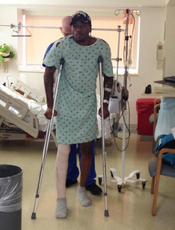 kevin ware crutches