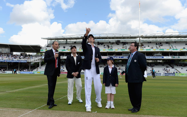 England win toss and choose to bat in first Test against New Zealand