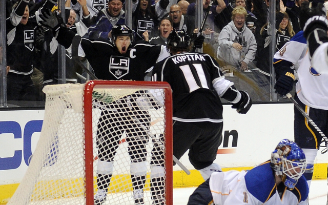 (Video) Late rally helps Los Angeles Kings even series with St. Louis Blues