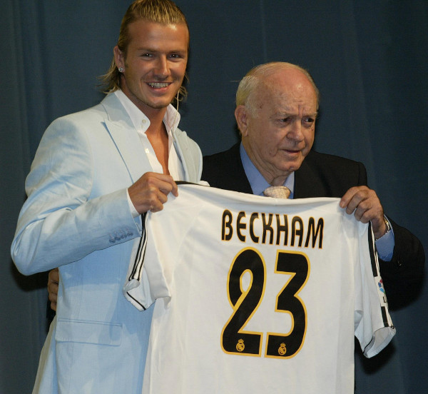 Beckham Di Stefano Real Madrid