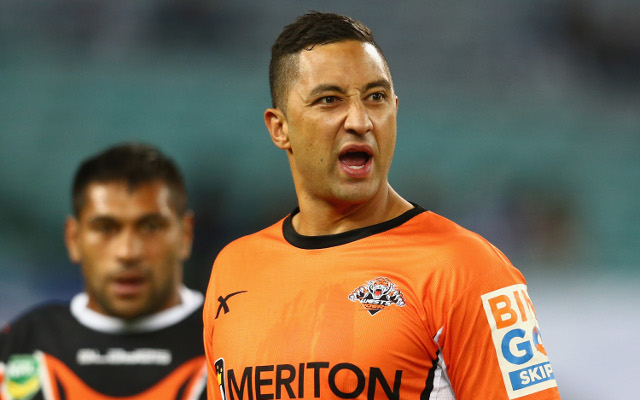 Wests Tigers coach backs benched Benji Marhshall