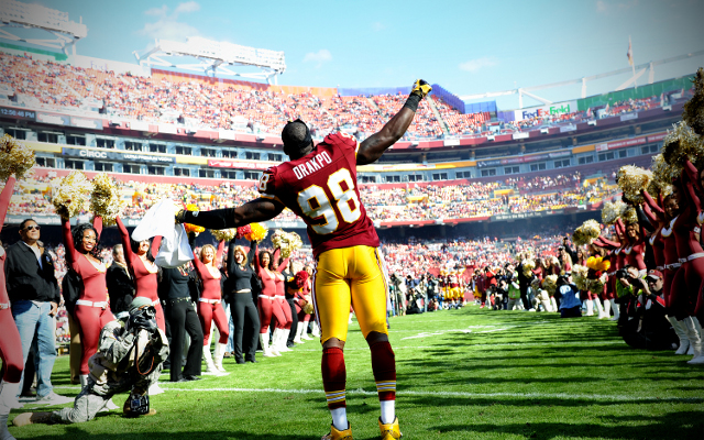 Brian Orakpo yet to discuss contract discussions with Washington Redskins