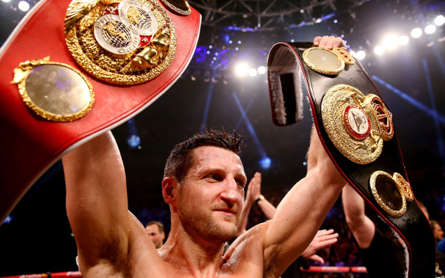 Boxing news: Carl Froch and Joe Calzaghe trade insults on Twitter