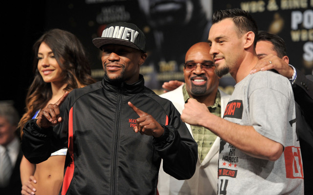Robert Guerrero says Floyd Mayweather's unbeaten tag has to go