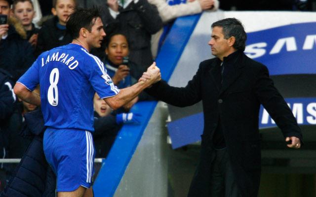 Frank Lampard Jose Mourinho