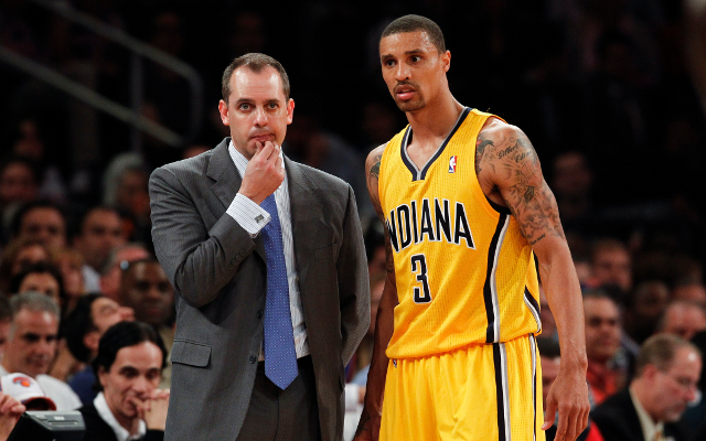 "(Video) Indiana Pacers coach Frank Vogel ""couldn't be more proud"" of his team"