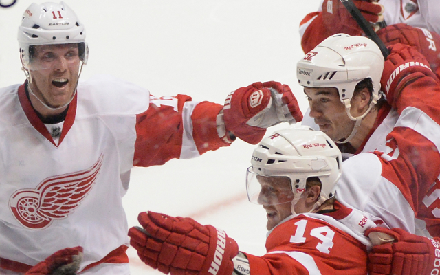 (Video) Anaheim Ducks 2-3 Detroit Red Wings: NHL highlights