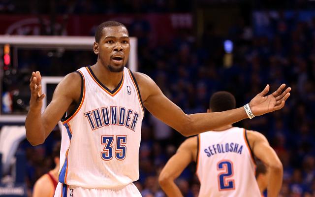 (Video) Kevin Durant praises teammates after Oklahoma City Thunder advance