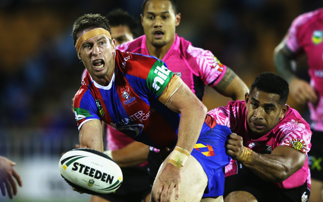 Gidley Warrington: Newcastle Knights skipper set to make Super League move