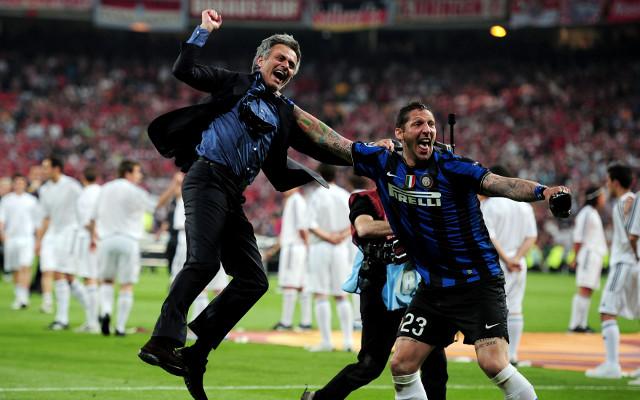 Mourinho Materazzi Inter Milan